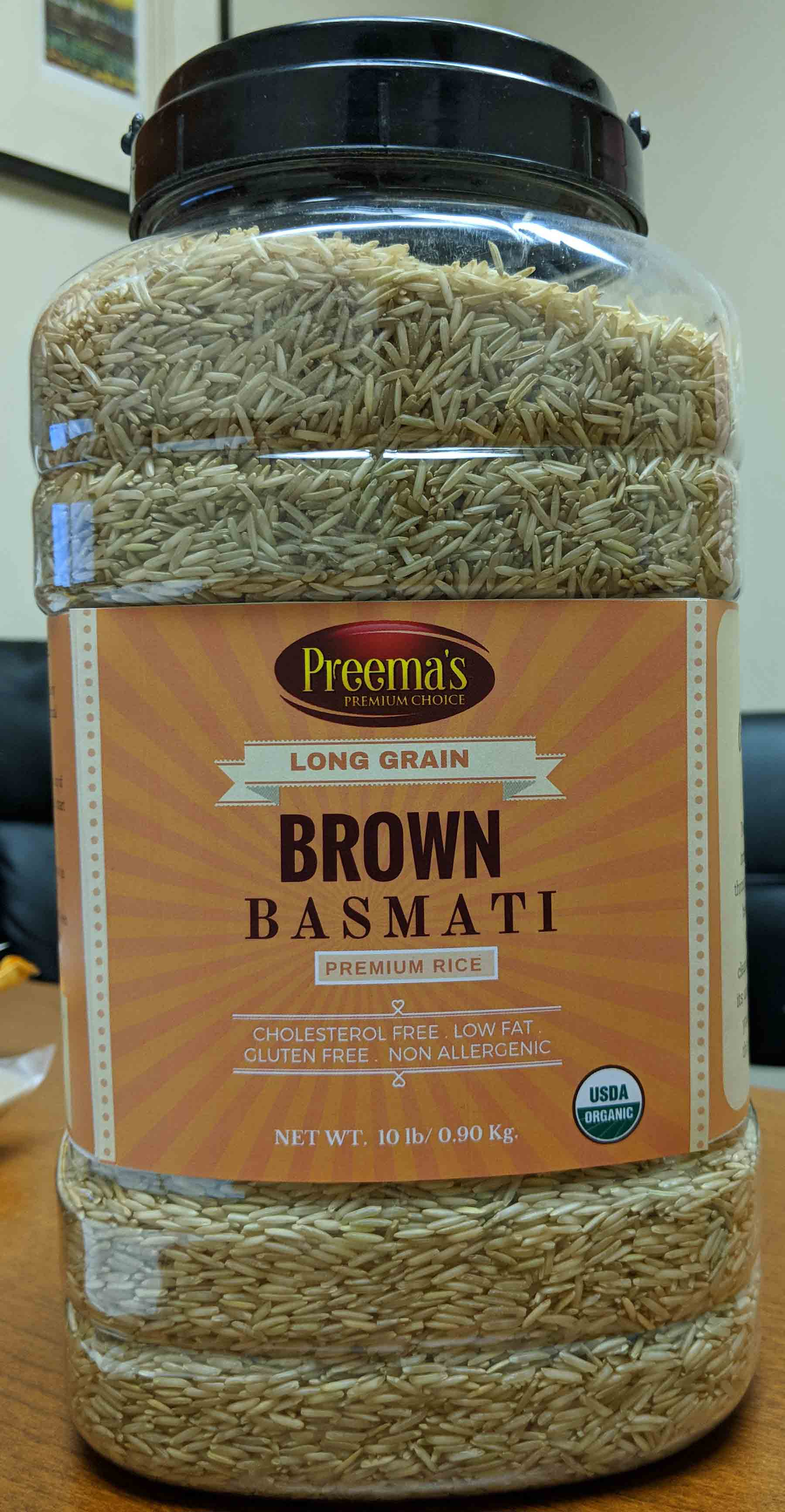 Preema Brown Basmati Rice Pusa