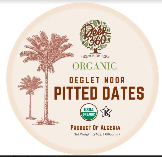 Deer 360 organic dates